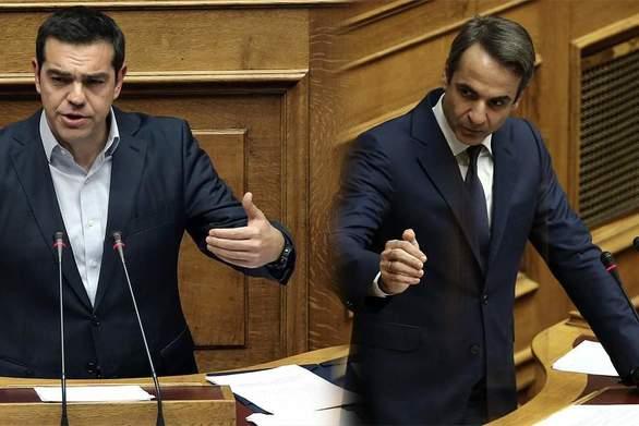 Δημοσκόπηση Marc: Στις 8,9 μονάδες η διαφορά ΝΔ - ΣΥΡΙΖΑ