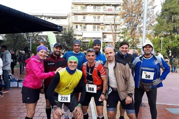 Μέλη του Σ.Μ.ΑΧ. Φειδιππίδη Πατρών συμμετείχαν στον 2ο Βυζαντινό Αγώνα 50 χιλιομέτρων