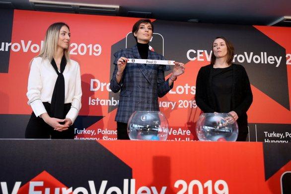 Ευρωβόλεϊ 2019: Πολύ δύσκολη κλήρωση για την Εθνική γυναικών