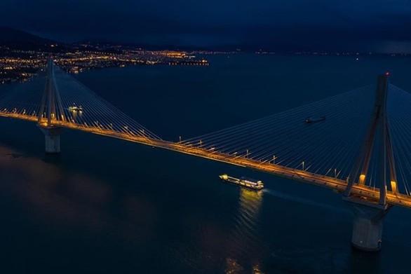 Μια νύχτα του Γενάρη στη Γέφυρα Ρίου - Αντιρρίου
