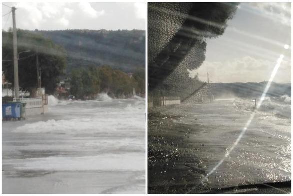Πάτρα - Πλημμύρισαν τα Βραχναίικα! (video)