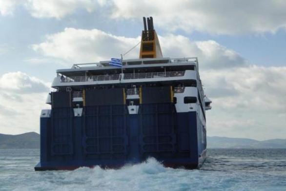Έξι ώρες ανοικτά της Ζακύνθου έμεινε πλοίο της γραμμής