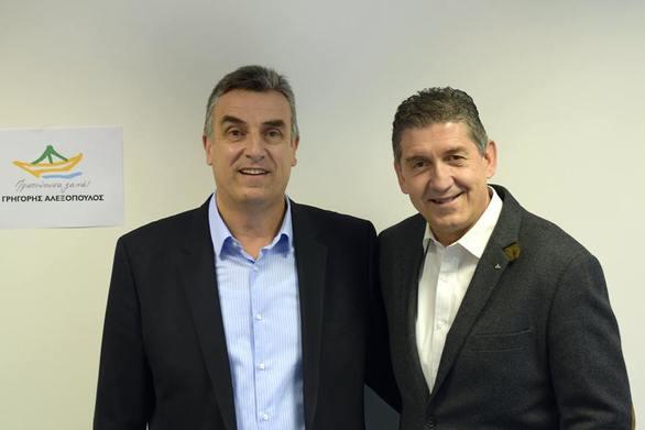 Ο Θωμάς Ζαχαρόπουλος υποψήφιος με τον Γρηγόρη Αλεξόπουλο