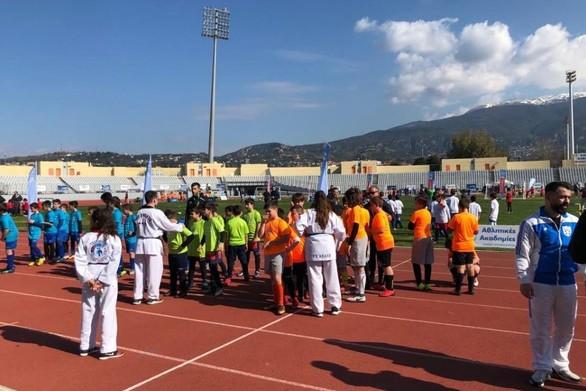 H μεγάλη γιορτή του ΟΠΑΠ στην Πάτρα - Γέμισε παιδικές φωνές το Παμπελοποννησιακό (pics)