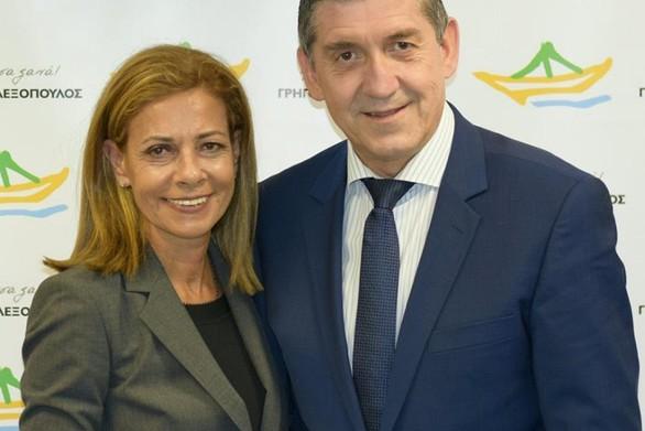 Πάτρα: Με τον Γρηγόρη Αλεξόπουλο κατεβαίνει υποψήφια η Κατερίνα Σολωμού