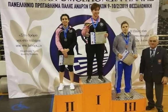 """Xάλκινo μετάλλιo στο πανελλήνιο πρωτάθλημα ανδρών - γυναικών για τον Σύλλογο """"Πολυνίκη"""""""