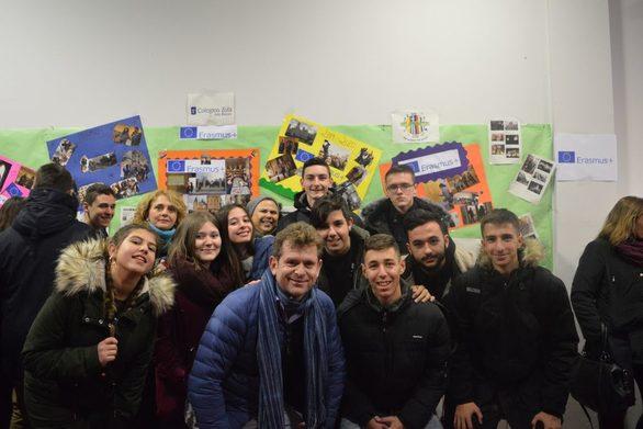 Μαθητές του Γενικού Λυκείου Βραχναιίκων ταξίδεψαν στην Ισπανία (φωτο)
