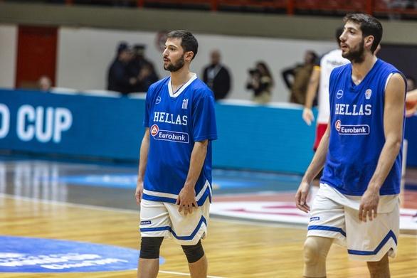 Προμηθέας Πατρών - Γκίκας, Κασελάκης, Κατσίβελης και Σαλούστρος στην λίστα της Εθνικής Ανδρών