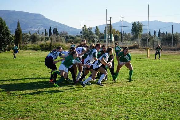 100 αθλητές και αθλήτριες του Rugby βρέθηκαν στην Πάτρα (pics)