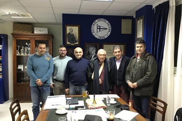Ο Γρηγόρης Αλεξόπουλος στον ΝΟΠ (φωτο)