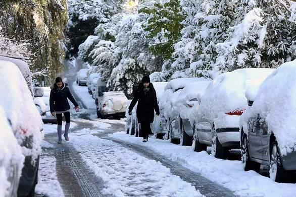 """Γιάννης Καλλιάνος: """"Ιστορικός ο χιονιάς"""""""