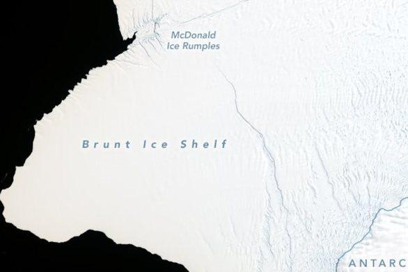 Ανταρκτική: Ετοιμάζεται να αποκολληθεί παγόβουνο 30 φορές μεγαλύτερο από το Μανχάταν