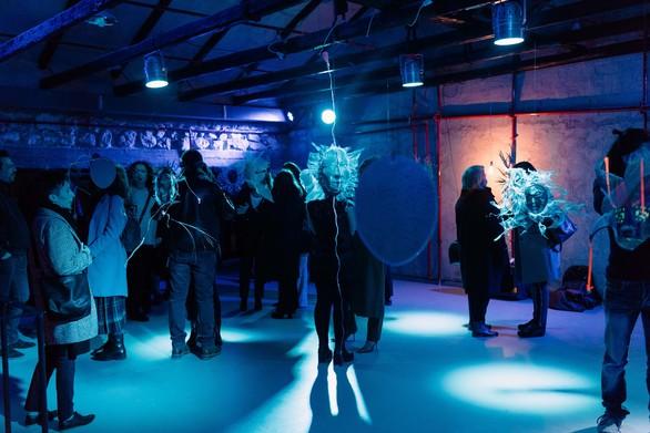 Πάτρα: Mε επιτυχία τα εγκαίνια του art project της Βασιλικής Κασπίρη (φωτο)