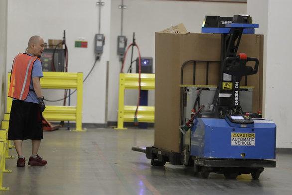Amazon - Ρομπότ της θα μεταφέρουν δέματα στο σπίτι