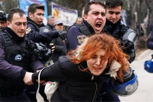 """Ερντογάν: """"Ασέβεια απέναντι στο Ισλάμ η συγκέντρωση των γυναικών στην Κωνσταντινούπολη"""""""