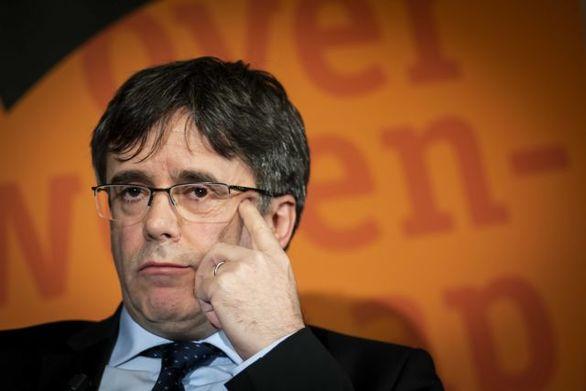 Ο Πουτζδεμόν επικεφαλής του αυτονομιστικού καταλανικού κόμματος στις ευρωεκλογές