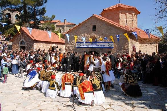 Aχαΐα: Tα Καλάβρυτα θα τιμήσουν την εορτή της 25ης Μαρτίου