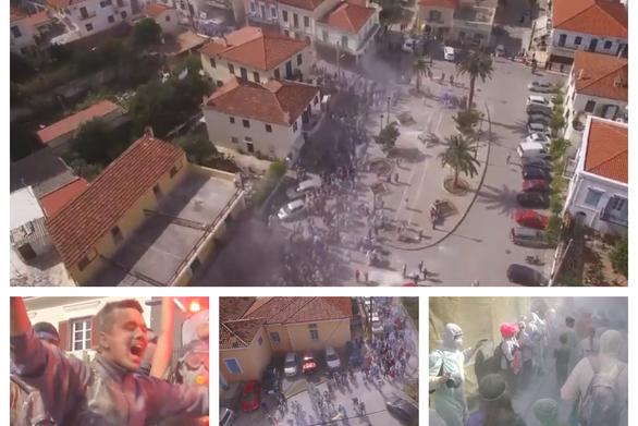 Αλευρομουτζουρώματα - Με επιτυχία η πιο διάσημη «μάχη» της Καθαράς Δευτέρας (vids)
