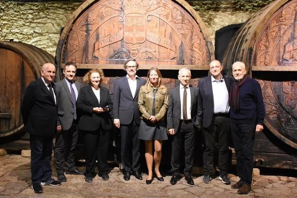 Πάτρα: O Πρέσβης της Γερμανίας Jens Plötner επισκέφθηκε την Achaia Clauss