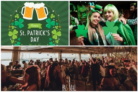 Saint Patrick's Day: Γιορτάζουμε σαν Ιρλανδοί στο Pas Mal