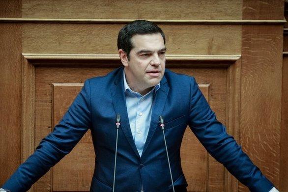 """Αλέξης Τσίπρας: """"Κάποιοι επέλεξαν να παίξουν φτηνά παιχνίδια με το Σύνταγμα"""""""