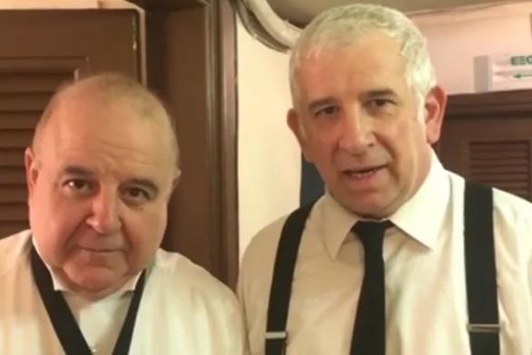 Φιλιππίδης και Χαϊκάλης προκαλούν τον Νίκο Μουτσινά