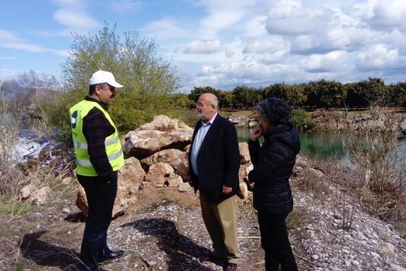 Στα αντιπλημμυρικά έργα στον ποταμό Αχελώο βρέθηκε ο Αντιπεριφερειάρχης Γιάννης Λύτρας