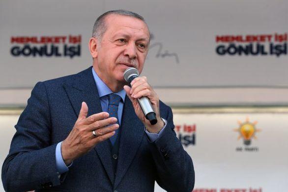 """Ερντογάν: """"Το όραμα του φονιά κερδίζει έδαφος στη Δύση"""""""