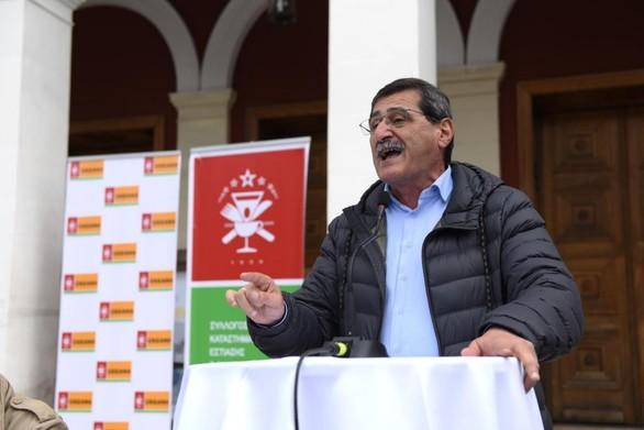 Ο Δήμαρχος Πατρέων έδωσε το παρών στην απεργιακή κινητοποίηση του ΣΚΕΑΝΑ