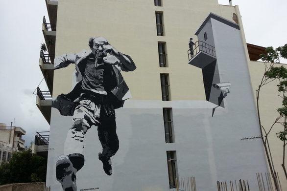 Οι Political Stencil, μιλούν για την τοιχογραφία, που δημιούργησαν στην Πάτρα (video)