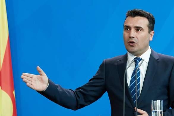"""Ζόραν Ζάεφ: """"Τεράστια τα οικονομικά οφέλη από τη Συμφωνία των Πρεσπών"""""""