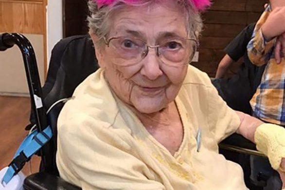 Τα όργανά της ήταν σε λάθος θέσεις αλλά έζησε μέχρι τα 99