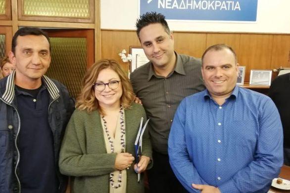 Μέλη της Ένωσης Αστυνομικών Υπαλλήλων Αχαΐας συναντήθηκαν με την Μαρία Σπυράκη