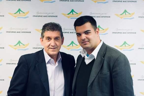 Πάτρα - Ο Δημήτρης Αθανασόπουλος υποψήφιος με τον Γρηγόρη Αλεξόπουλο