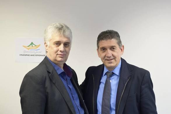 Πάτρα - Ο Μιχάλης Σπυρόπουλος υποψήφιος με τον Γρηγόρη Αλεξόπουλο