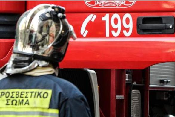 Δυτική Ελλάδα: Φωτιά σε εκδρομικό λεωφορείο στην Παλιοβούνα