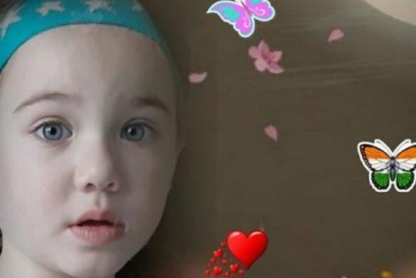 Πάτρα: Σπαραγμός για τη Μαλένα, τον πιο όμορφο άγγελο του ουρανού