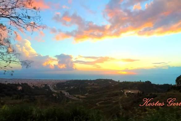 Το ηλιοβασίλεμα της Πάτρας, μέσα από ένα όμορφο timelapse βίντεο!