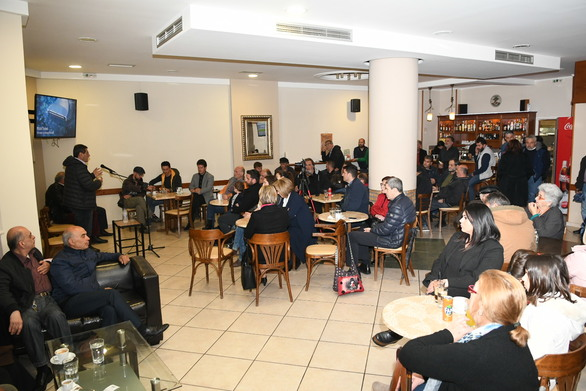 Πάτρα - Ο Κώστας Πελετίδης μίλησε σε συγκέντρωση κατοίκων στο Δρέπανο (φωτο)