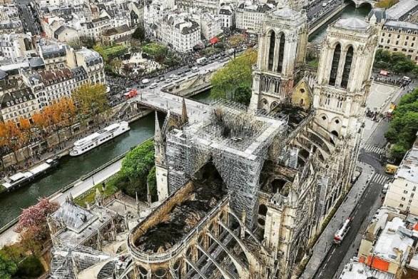Η πραγματική έκταση της καταστροφής στην Παναγία των Παρισίων (video)