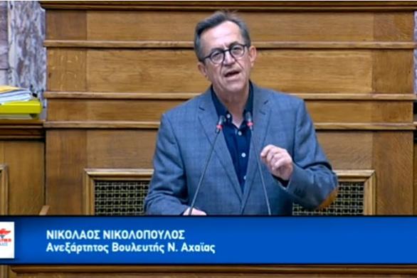 """Νίκος Νικολόπουλος: """"Εθνικό χρέος να διεκδικήσουμε με σθένος τις Γερμανικές αποζημιώσεις"""" (video)"""