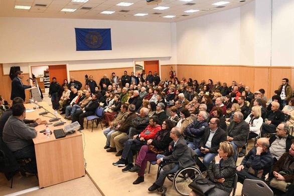 Πάτρα - Πραγματοποιήθηκε η εκδήλωση της Λαϊκής Συσπείρωσης για το έργο της στον πολιτισμό (φωτο+video)