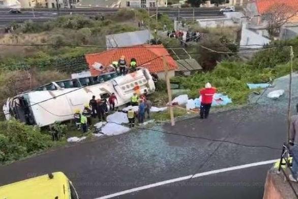 Πορτογαλία: Πολύνεκρο δυστύχημα με λεωφορείο