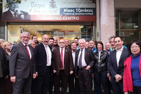 """Νίκος Τζανάκος: """"Μια σημαντική ιστορική στιγμή για την Πάτρα, η επίσκεψη του Προεδρείου της I.C.G."""""""