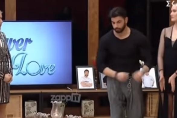 Power of Love: Διπλή ανατροπή στην αποχώρηση (video)