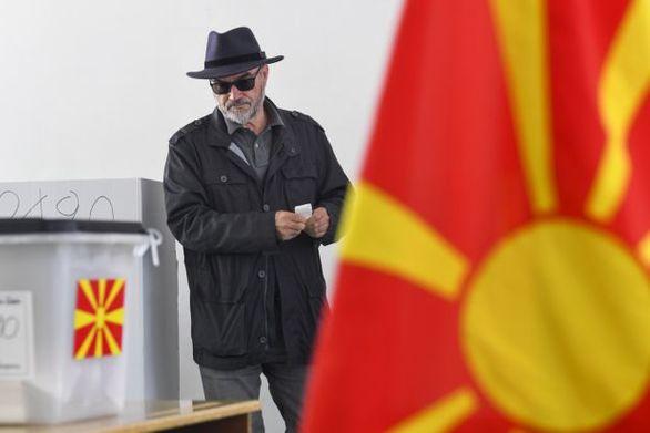 Ομαλά εξελίσσονται οι εκλογές στη Βόρεια Μακεδονία