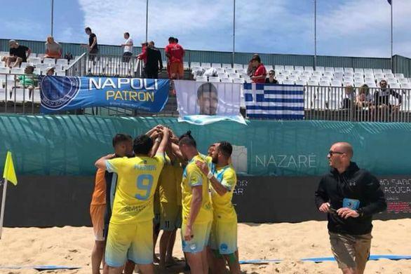 """Πάτρα: Διεθνές τουρνουά beach soccer """"Spyros Abramis"""" από τη Νάπολη"""