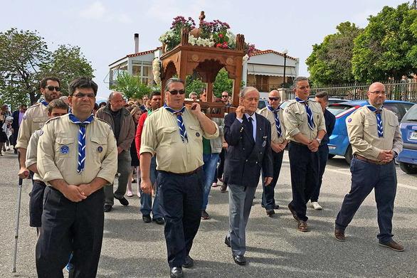 Συνοδεία της Φιλαρμονικής Αγίου Διονυσίου φέτος ο Επιτάφιος των Παλαιών Προσκόπων