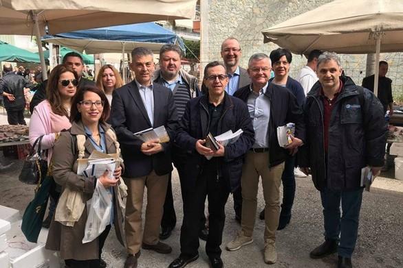 """Νίκος Νικολόπουλος: """"Θ' αλλάξουν οι συνθήκες λειτουργίας των λαϊκών αγορών"""""""