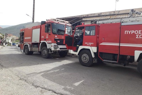 Δυτική Ελλάδα: Κάηκε ολοσχερώς ταβέρνα στο Αρχοντοχώρι